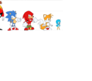Knuckles the Echidna (Classic Sonic's world)/Gallery