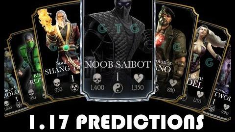 1.17 MKX Mobile Character Predictions