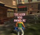 The Alien Who Probed Me