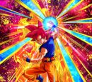Explosive Battle Urge Super Saiyan God Goku