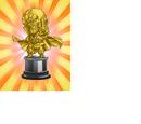 Worth 1,000,000 Zeni Hercule Statue (Gold)