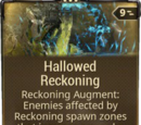 Hallowed Reckoning