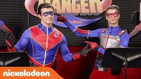The Adventures of Kid Danger Theme Song Karaoke Style w Jace Norman & Cooper Barnes! MusicMonday