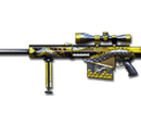 Barrett M82A1-Flying Dragon Ultimate Goldsmith