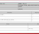 Jimmy Tells