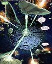 The Borg is attacking a Romulan armada - Star Trek - Boldly Go 003.jpg
