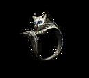 Anillo Gato de plata