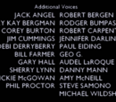 List of additional voices