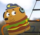 Policial Hambúrguer