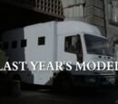 Last Year's Model