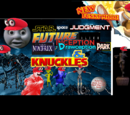 Star Space Judgement Future Alien Matrix Inception Drawception Park & Knuckles New Funky Mode featuring Dante from the Devil May Cry Series