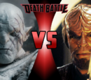 Azog the Defiler vs. Worf the Lieutenant