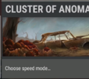 Cluster of anomalies