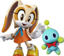 Cream the Rabbit & Cheese the Chao