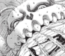 The crystal is forced into the Jaw Titan's mouth.png