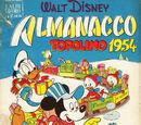 Planches Almanach Topolino 1954