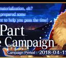 Fate/Accel Zero Order Advance Campaign (US)