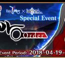 Fate/Accel Zero Order Collaboration Event (US)