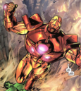 Anthony Stark (Earth-616), Bruce Banner (Earth-616), Iron Man Armor Model 26 MK I from Incredible Hulk Vol 2 74 001.png
