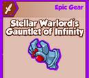 Stellar Warlord's Gauntlet of Infinity