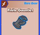 Finite Gauntlet