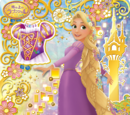 Rapunzel Floral Shiny Star Coord