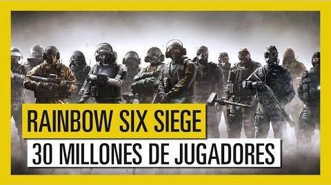 Clear Arrow/Tom Clancy's Rainbow Six supera la cifra de 30 millones de jugadores