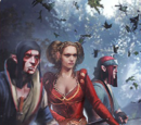 Scoia'tael gwent deck cards