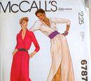 McCall's 6787 A
