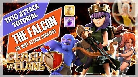FALCON GUIDE Best TH10 Attack in CoC Easy and strong 10v10 strategy for 3 stars Clash of Clans