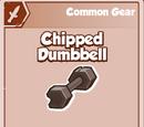Chipped Dumbbell