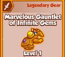 Marvelous Gauntlet of Infinite Gems
