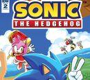 IDW Sonic the Hedgehog N° 2