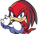 Knuckles the Echidna (IDW Publishing)