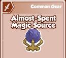 Almost-Spent Magic Source