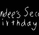Bendee's Second Birthday