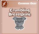 Crumbling Breastplate