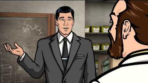 Archer - Krieger My penis can only get so erect.