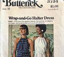 Butterick 3734 D