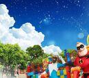 Pixar Water Play Street Party!