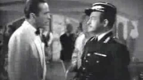 Casablanca gambling? I'm shocked!