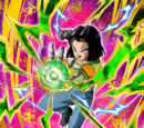 Quietly Burning Fighting Spirit Android 17
