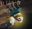 Ruffian Sea Dog Figurehead