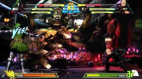 Doctor Doom reveal trailer for Marvel vs. Capcom 3