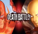 The Flash vs Saitama