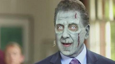 """Rise of Nightmares"" zombie TV spokesman series"