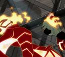 Человек-огонь-летучая мышь