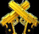 Dual Golden Pistol