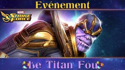 Marvel Strike Force Gameplay Event Thanos