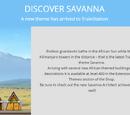 Savanna Theme